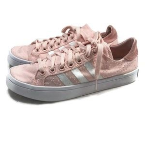 ADIDAS Womens Sneakers 8.5 Pink Machine Distressed